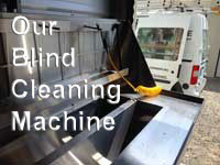 Blind cleaning service - Sunshine Window Cleaning Services